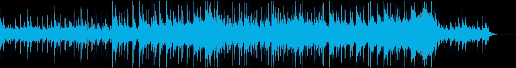 遺跡をイメージしたBGMの再生済みの波形