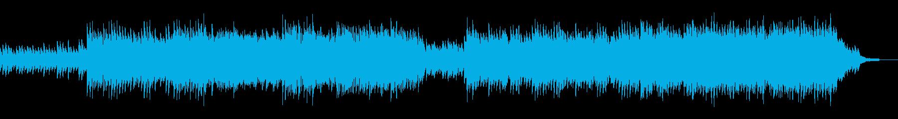 エレキギターがメインの軽快なポップスBの再生済みの波形