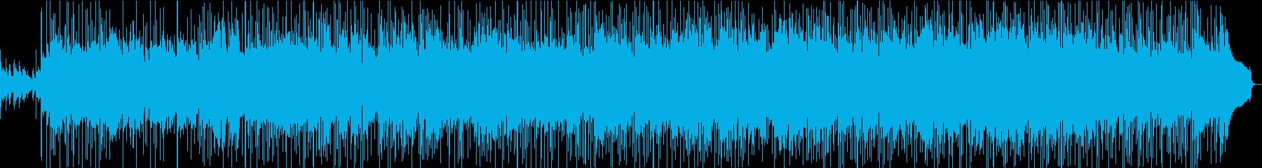 英詞、懐古じわじわオトナのロックバラードの再生済みの波形