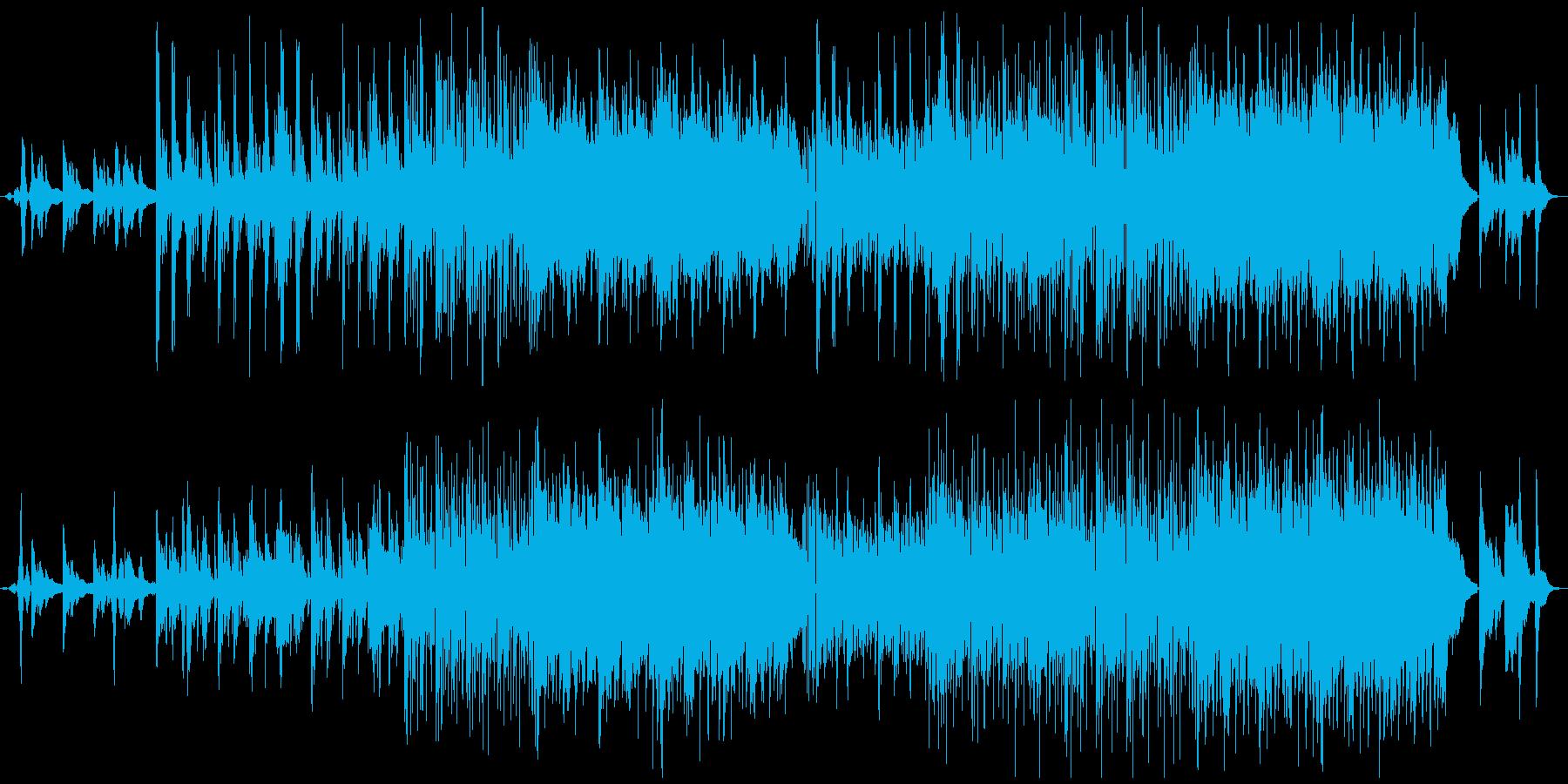【深海】をイメージしたピアノの旋律の再生済みの波形