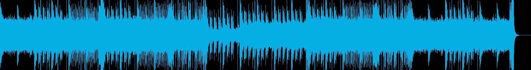 壮大な印象で登場感のあるビートサウンドの再生済みの波形