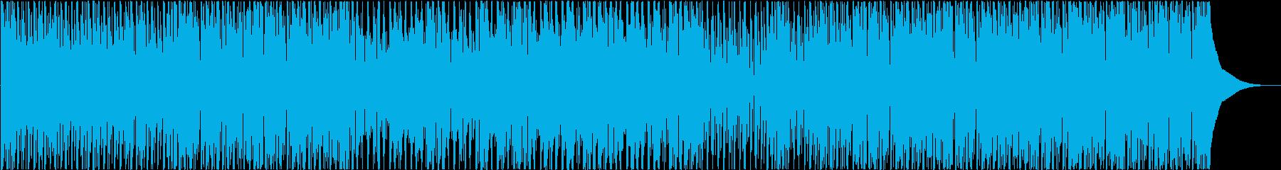 ポジティブ、ハッピー、ウクレレの再生済みの波形