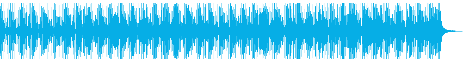 明るく朗らかなコンセプトムービー系の再生済みの波形