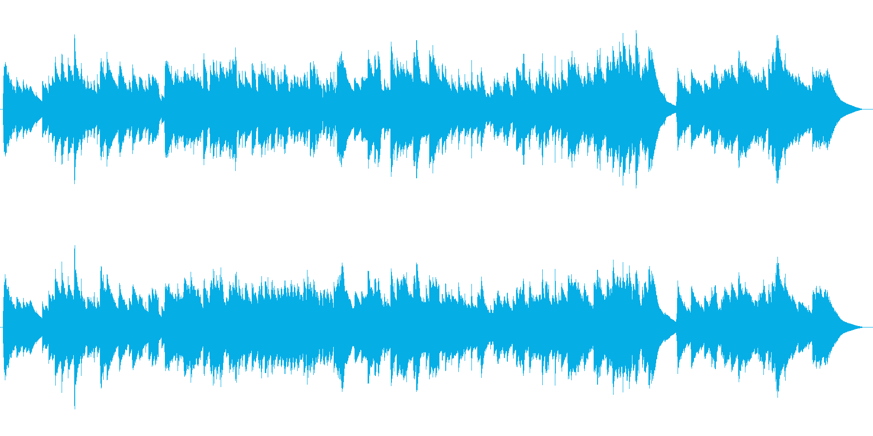 ワーグナーのニュルンベルク_オルゴール風の再生済みの波形