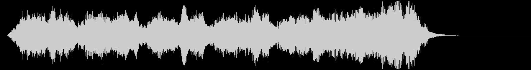 サウンドロゴ・ジングル(オーケストラ)の未再生の波形