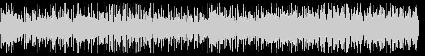 ロボティックなビートとテクスチャのIDMの未再生の波形