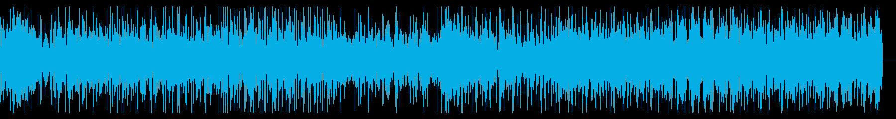 ロボティックなビートとテクスチャのIDMの再生済みの波形