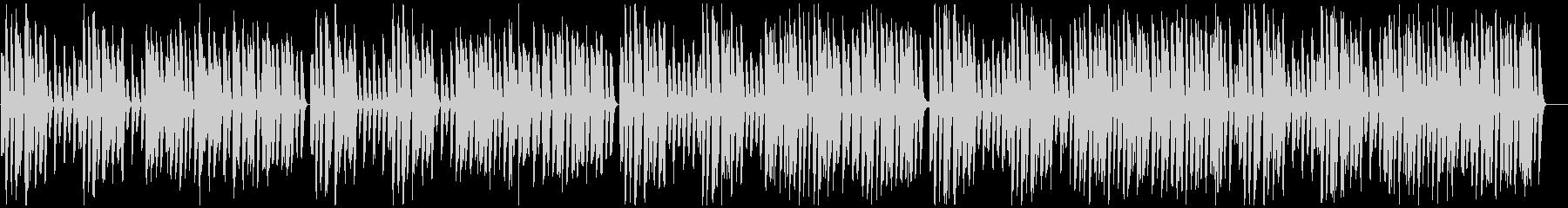 かわいい レトロ 子猫 白黒映画 ピアノの未再生の波形