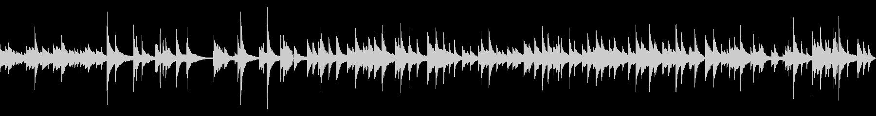 ジャズのバラード曲の未再生の波形