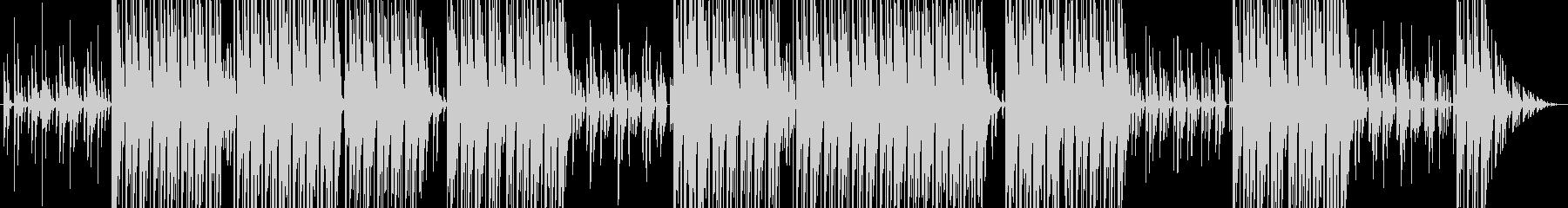 DJが作る踊れるhiphopビートの未再生の波形