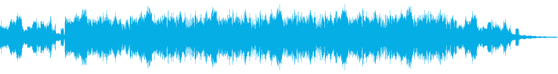 サーキットベントの不思議なIDMの再生済みの波形