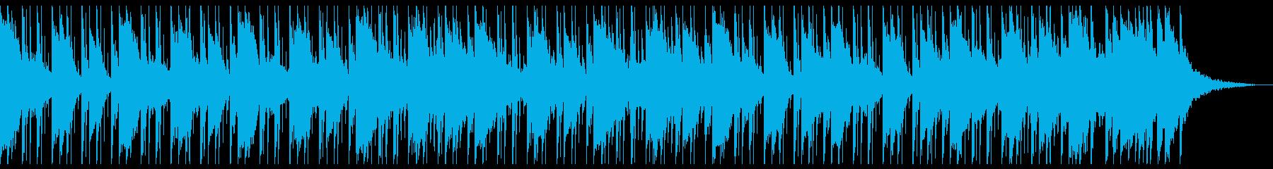 浮かぶマンドリンとシンセサイザーが...の再生済みの波形