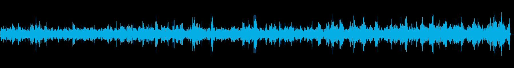 ぶくぶく(長めの泡の音)の再生済みの波形