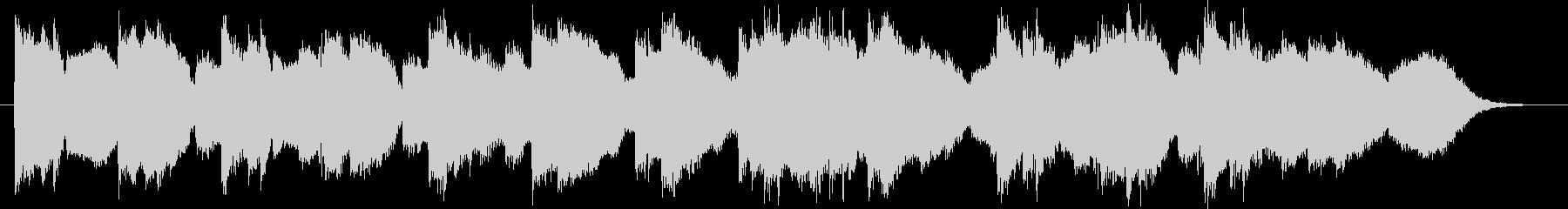 48秒の曲の未再生の波形