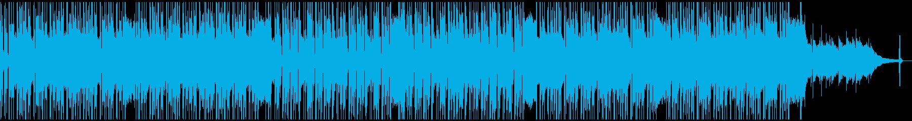 夜の雰囲気のお洒落なモダンジャズHRの再生済みの波形