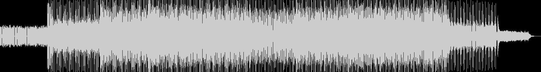 カッコイイ現代的なロックミュージック03の未再生の波形