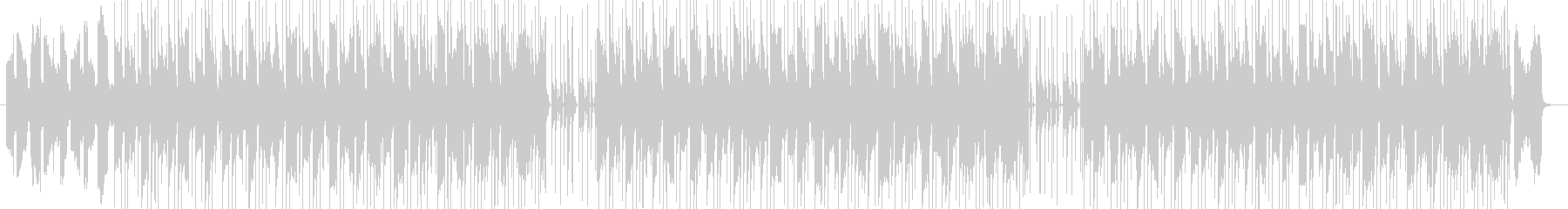 カフェ系インテリなお洒落エモポップスの未再生の波形
