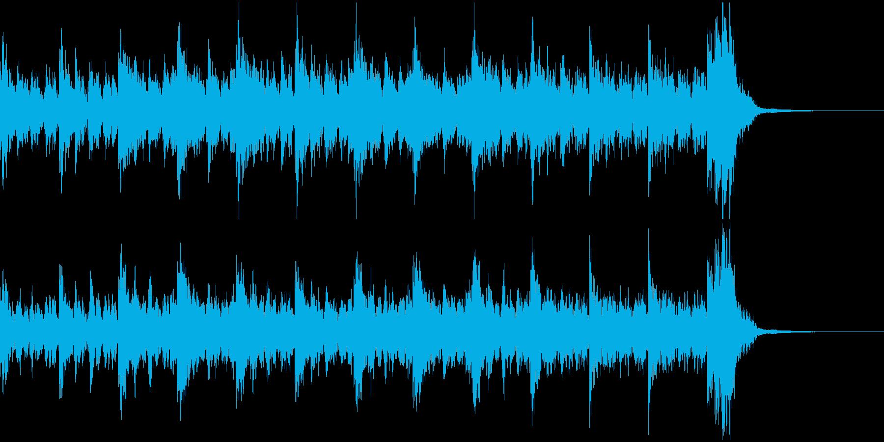 オーケストラ風味壮大なOPの再生済みの波形