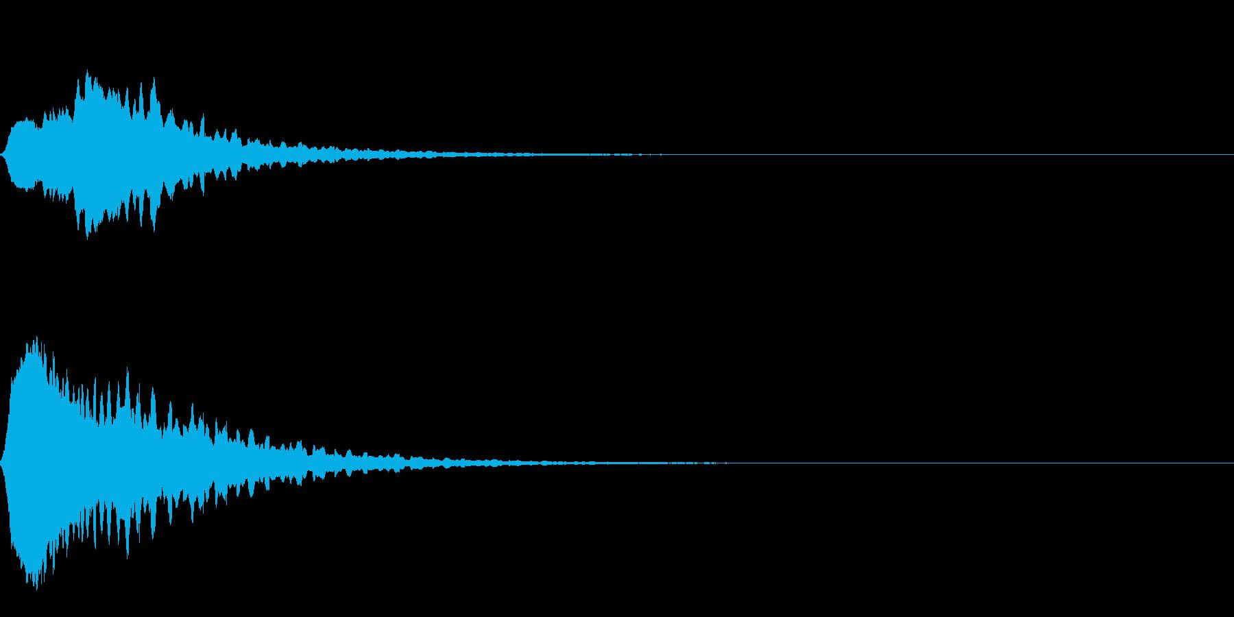 Anime アニメ向けマジカルエフェクトの再生済みの波形