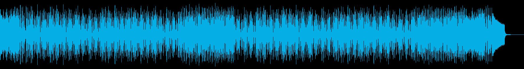コメディー・バラエティー・コミカルの再生済みの波形