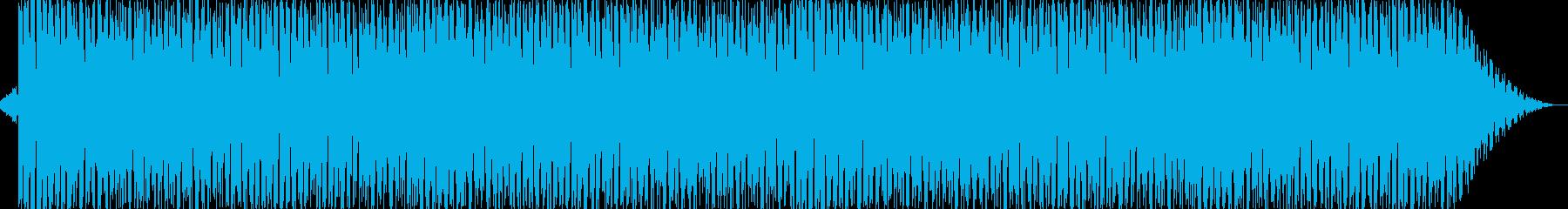 爽やかでオシャレなピアノ系ハウスの再生済みの波形