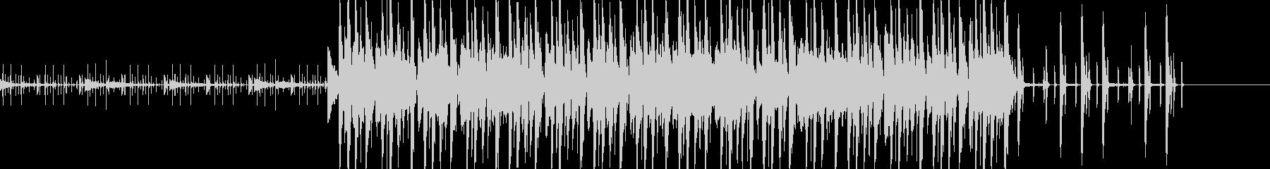 オシャレなファンクミュージックの未再生の波形