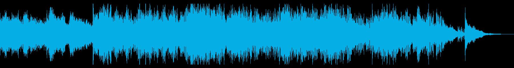 エレクトリックなグリッジアンビエントの再生済みの波形