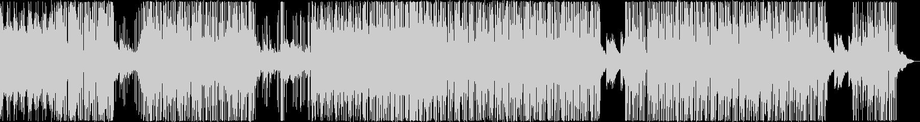 壮大なBGMですの未再生の波形