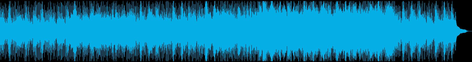 モダンな暖かいアコースティック曲ミニマルの再生済みの波形