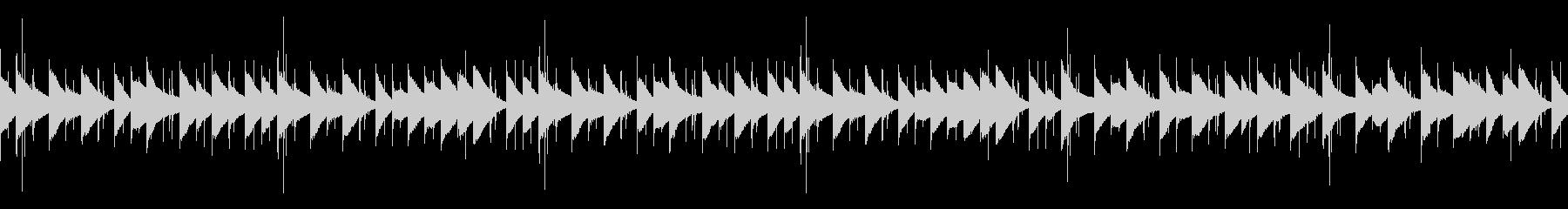 オルゴール・マリンバの可愛いBGMループの未再生の波形