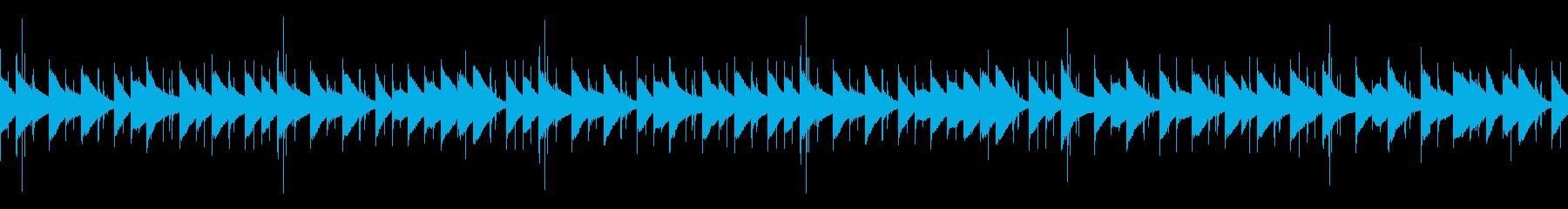 オルゴール・マリンバの可愛いBGMループの再生済みの波形