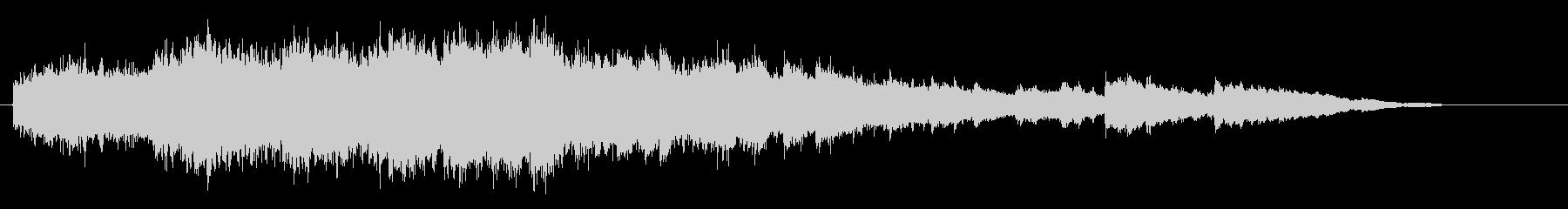ブライダル・パフォーマンス向けピアノの未再生の波形