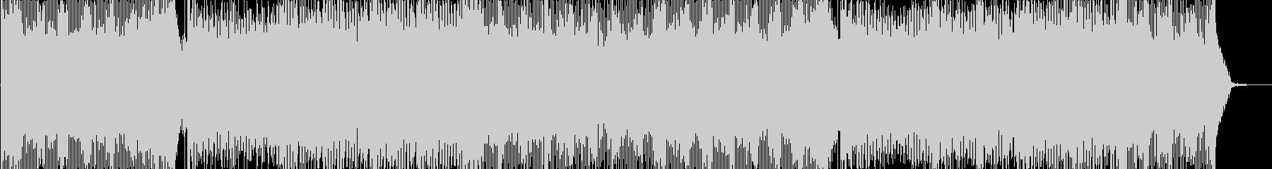 篠笛メロディ抜きの未再生の波形