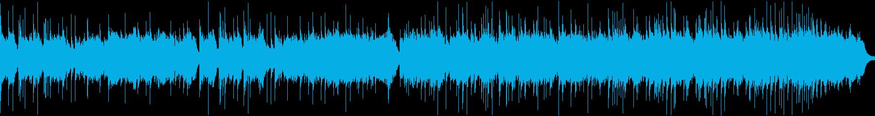 オルゴール&弦の切ない小曲・ループの再生済みの波形