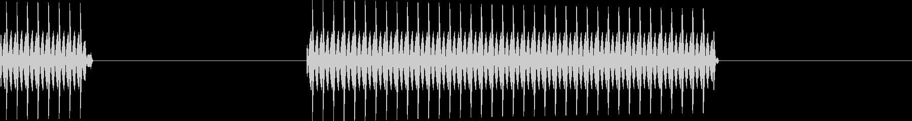 ブッブー(クイズ_不正解)の未再生の波形