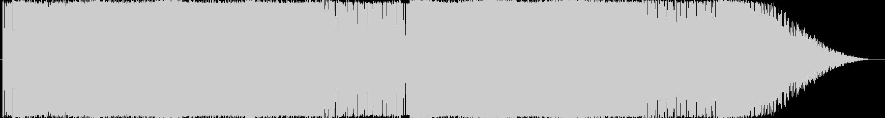 独創的なエレクトロサウンドになります。の未再生の波形
