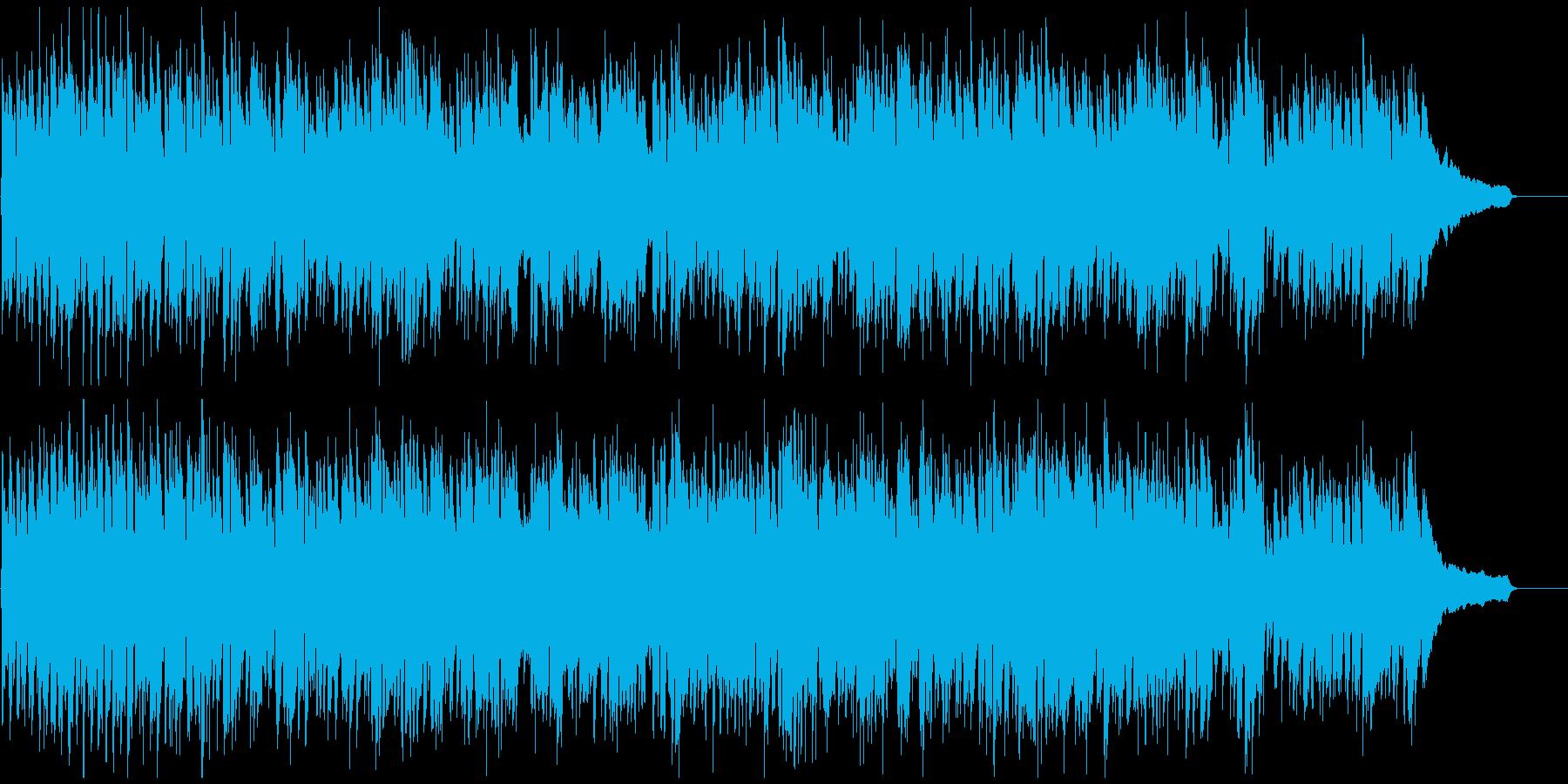 元気いっぱいなリコーダーの爽やかポップスの再生済みの波形