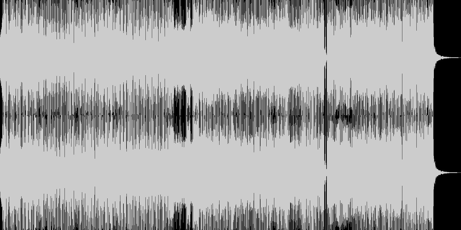 クールなギター奏でるコミカルロック ★の未再生の波形