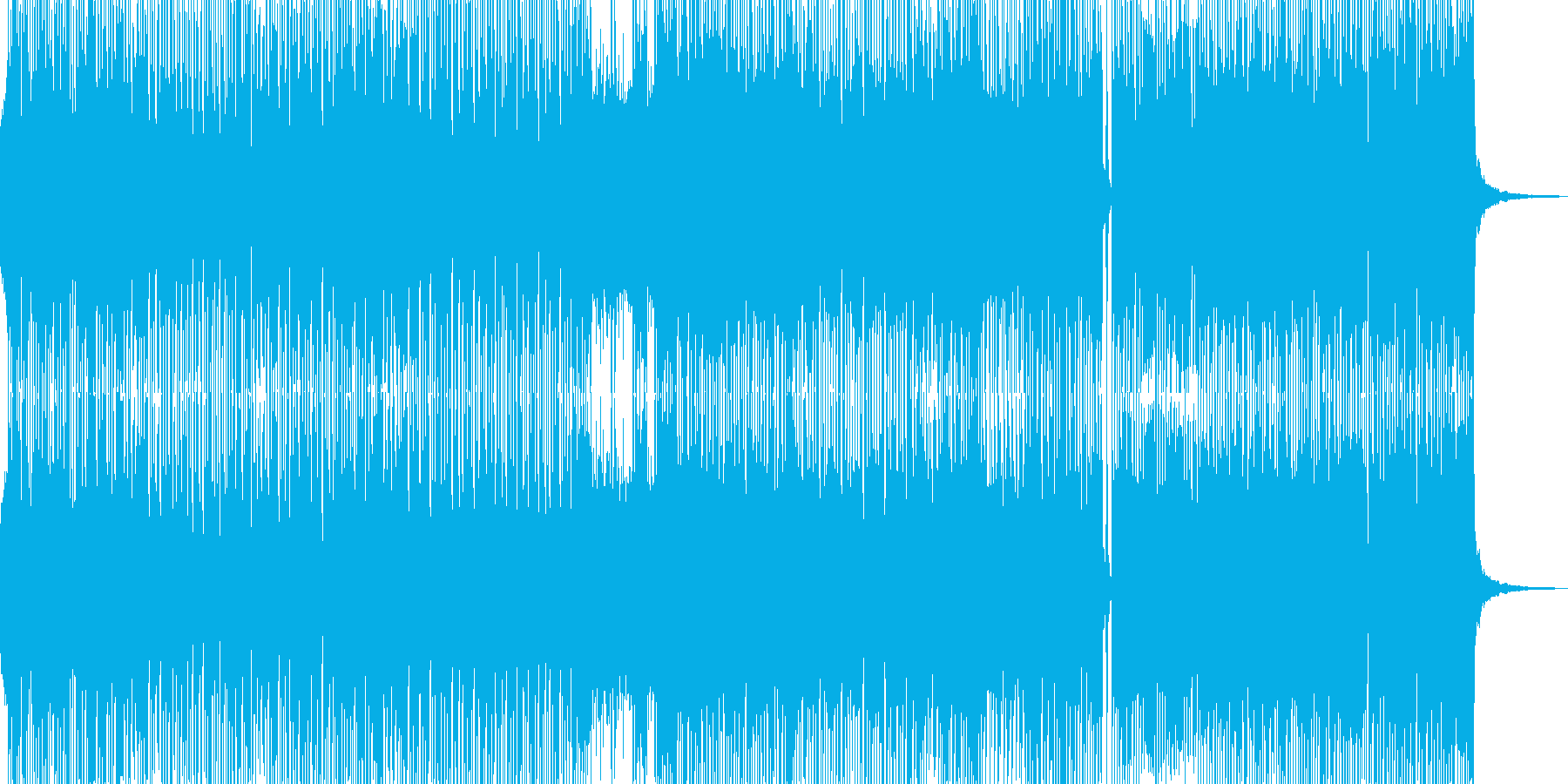 クールなギター奏でるコミカルロック ★の再生済みの波形