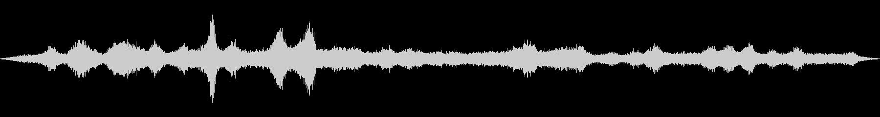 道路の音(環境音)02の未再生の波形