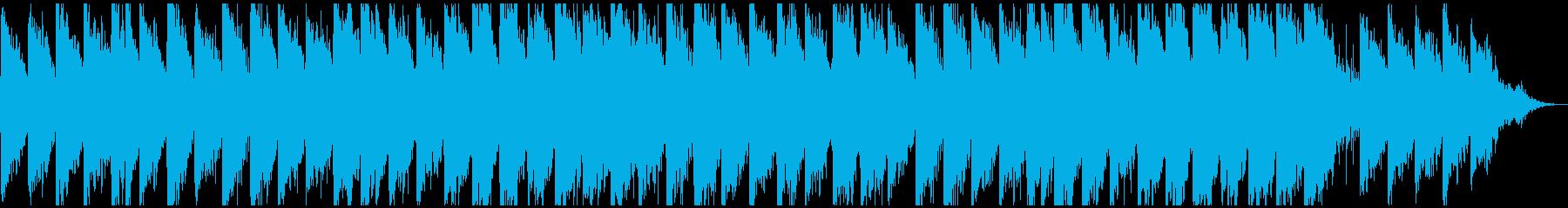 広がりのあるギターのアンビエントの再生済みの波形