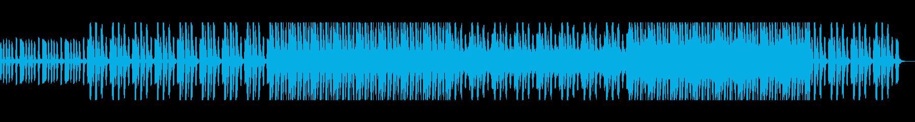 春をイメージしたハッピーなBGMの再生済みの波形