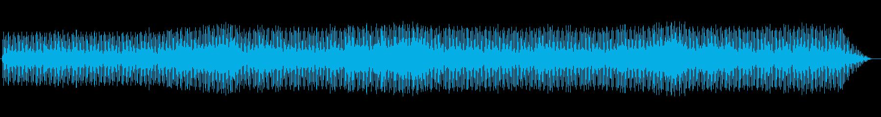 笛の音が印象的なシンセミュージックの再生済みの波形