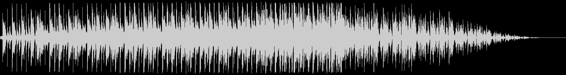 ほのぼのアコースティックなBGMの未再生の波形