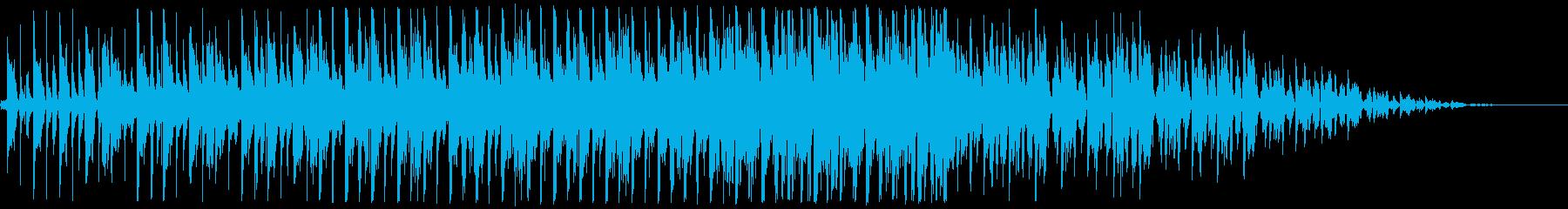 ほのぼのアコースティックなBGMの再生済みの波形