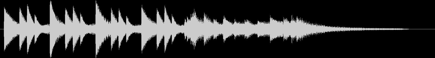 XmasキャロルオブザベルズジングルBの未再生の波形