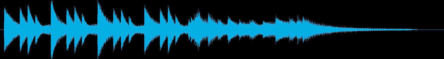 XmasキャロルオブザベルズジングルBの再生済みの波形