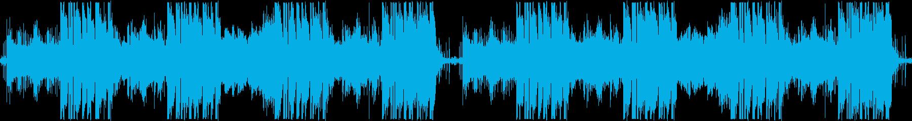 インダストリアル、ノイズ系Hiphopの再生済みの波形