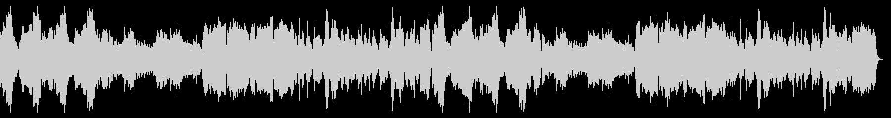 重厚でリッチなハロウィン曲の未再生の波形