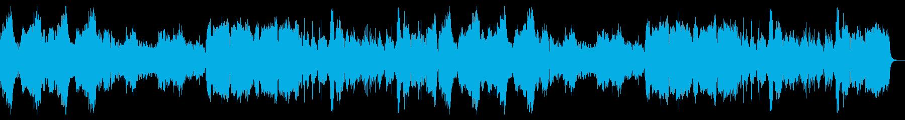重厚でリッチなハロウィン曲の再生済みの波形